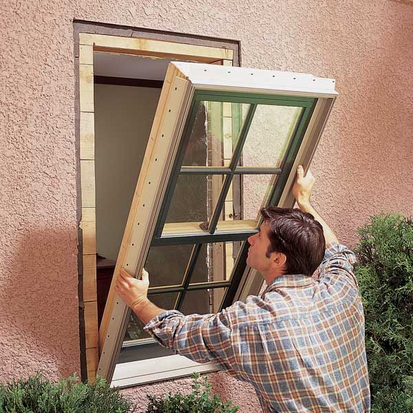 replacing the windows in your house